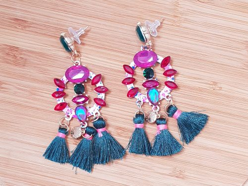 Boho Style Quirky Fringe Tassel Earrings