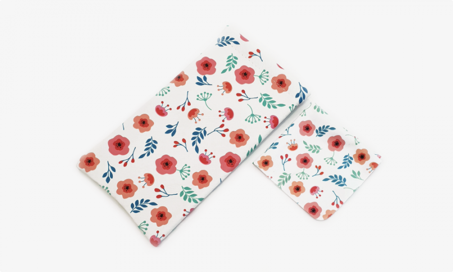 little blossoms soft glasses pouch case profile