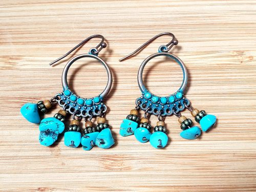 Multi-bead Bohemian Style Fashion Earrings