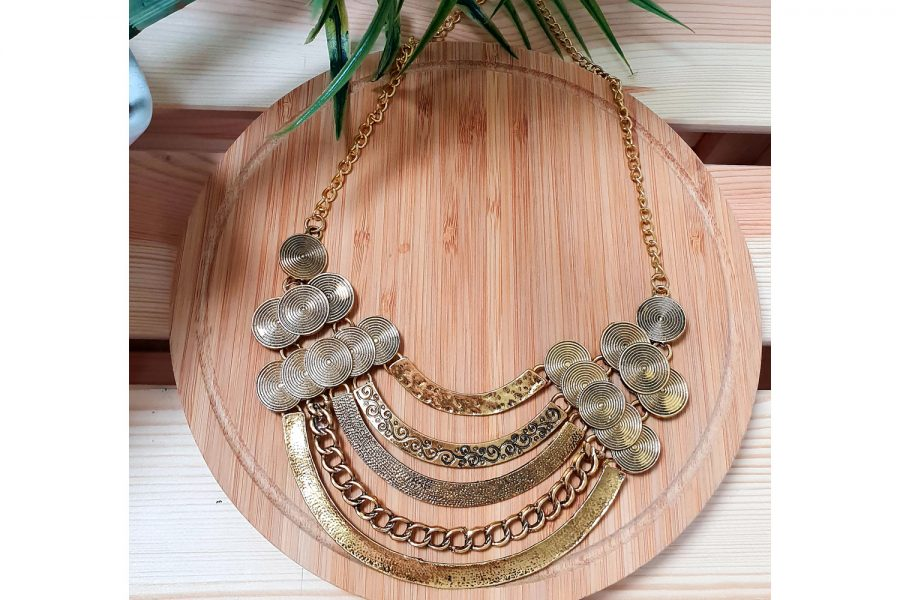 Multilayer Ancient Tribal Style Necklace Jewellery