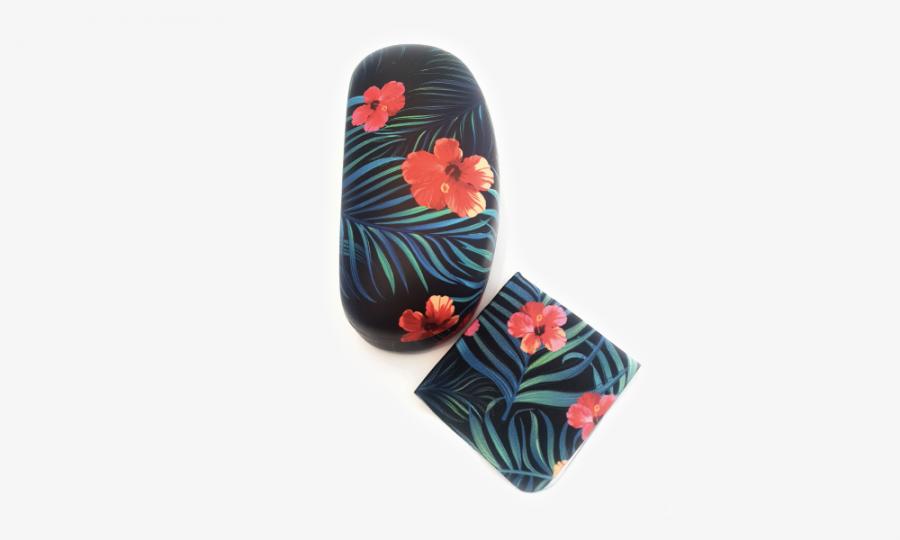 tropical affairs floral sunglasses case hard 4