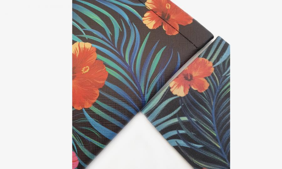 tropical affairs floral glasses case soft 2