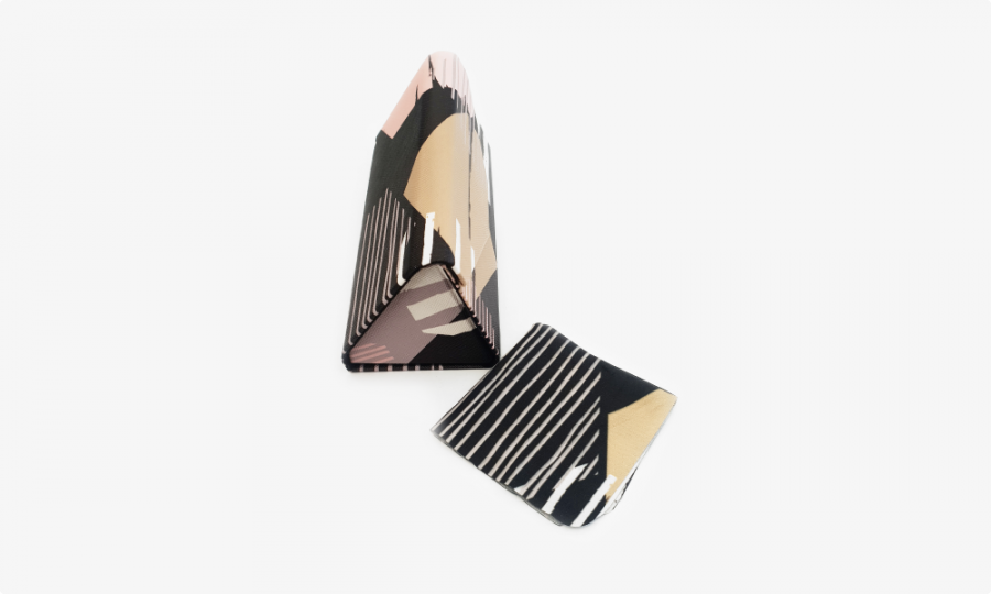 abstract print folding case side view1
