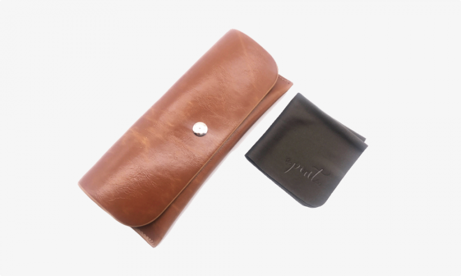 classy leather case profile
