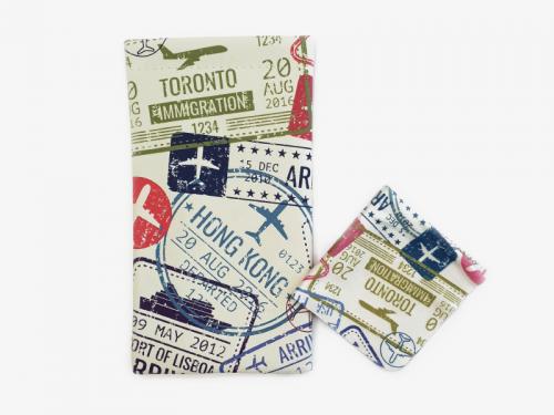 passport glasses case pouch